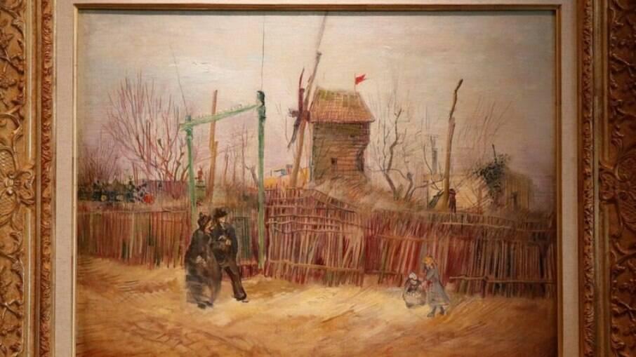 Pintura de Van Vogh em Paris