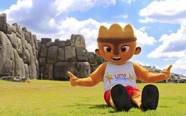 Mascote do Pan 2019 em Lima%2C no Peru