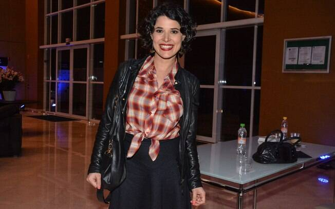 Manuela do Monte na inauguração do Teatro J. Safra em São Paulo
