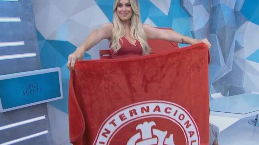 Renata Fan fortalece sua torcida pelo Inter