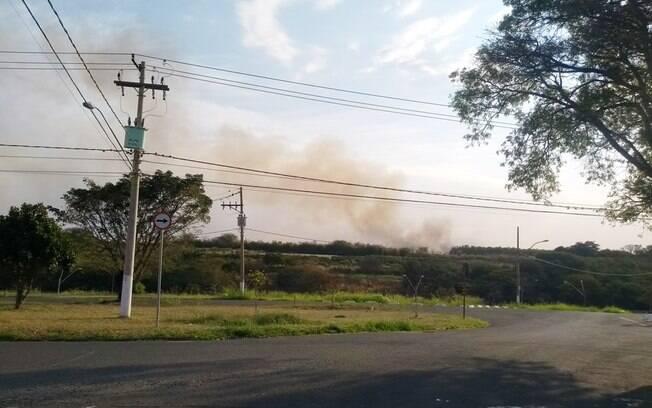 Campinas tem registrado muitas queimadas.