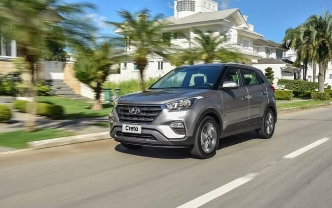 Hyundai Creta é novidade no balanço 2018. Pela primeira vez, o SUV coreano foi o modelo mais vendido de sua categoria