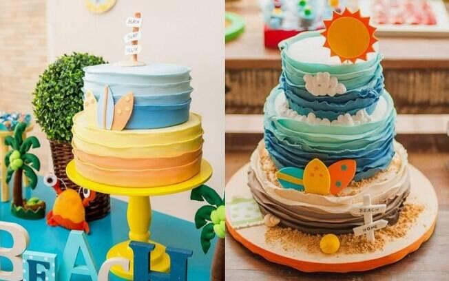 Para escolher o bolo, é importante soltar a criatividade e agradar a criançada no momento mais esperado da festa