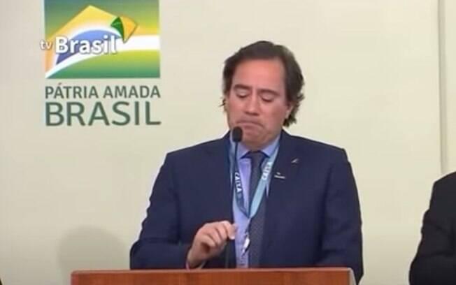 Pedro Guimarães chamou funcionários de 'família' e chorou durante discurso no evento de divulgação do Casa Verde Amarela