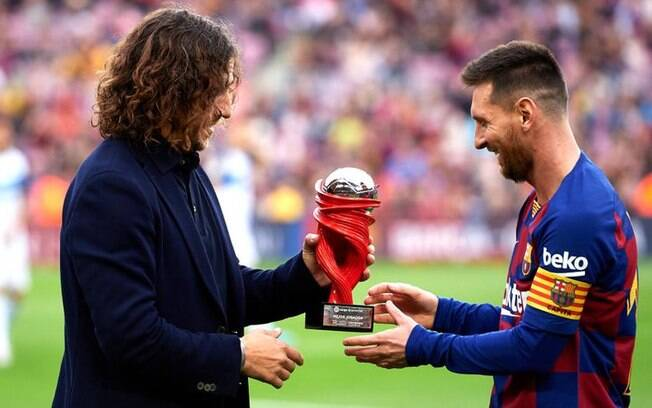 puyol e messi