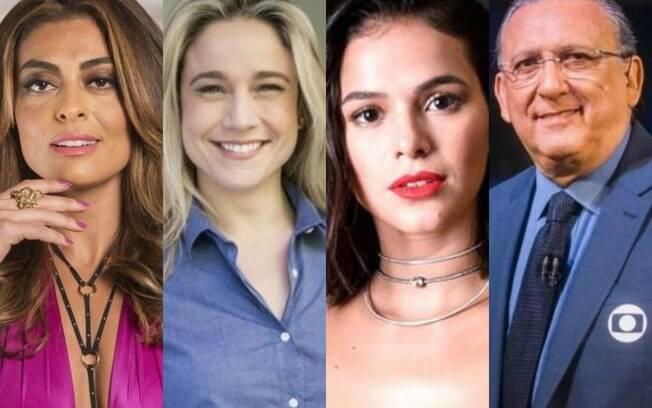 Juliana Paes, Fernanda Gentil, Marquezine e Galvão