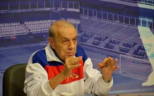 O cronista esportivo Armando Gomes Vieira Filho