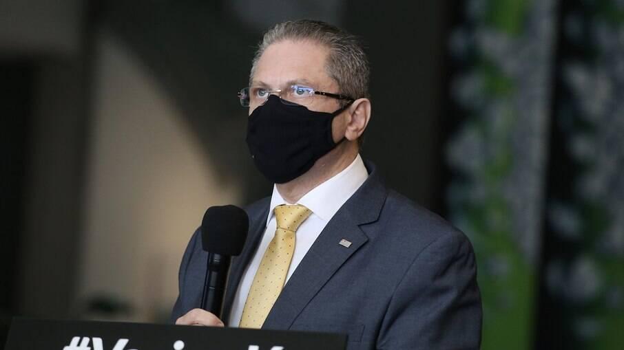 Jean Gorinchteyn, secretário da Saúde do governo de São Paulo