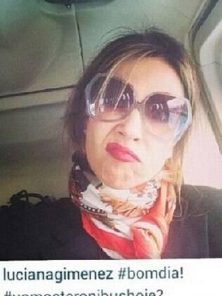 Luciana Gimenez e a foto polêmica...