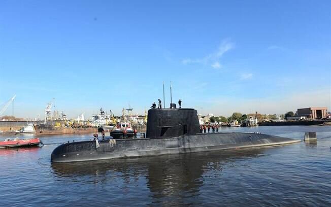 Submarino argentino ARA San Juan levava 44 tripulantes quando desapareceu, no dia 16 de novembro do ano passado