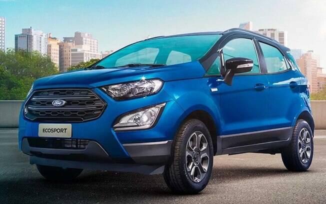 Ford Ka e EcoSport Edição Limitada vem com pintura azul com teto preto brilhante entre as principais diferenças