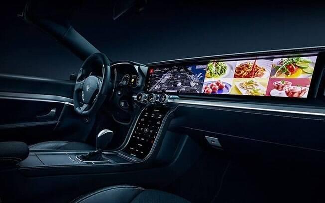 A Samsung anunciou no CES 2019 o Digital Cokpit, um interior futurista que faz tudo dentro do carro