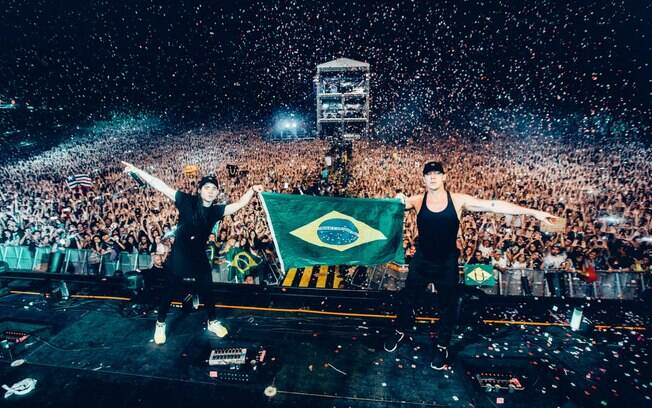 O Jack Ü tocou no Lollapalooza Brasil 2016