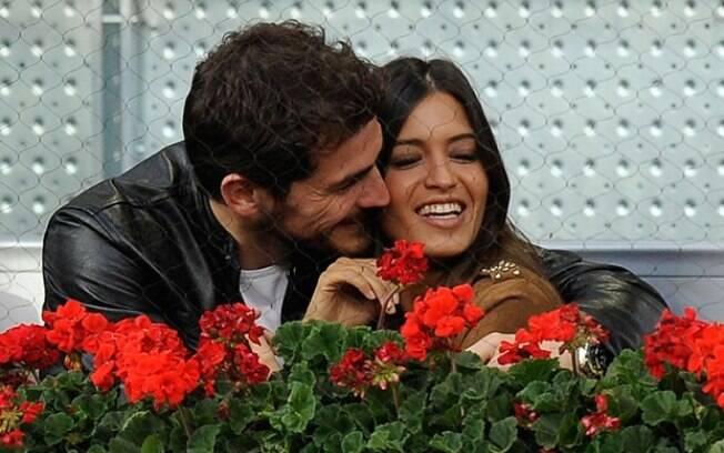 Sara Carbonero, namorada de Casillas, disse  que com Mourinho o