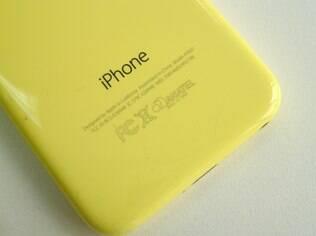 iPhone 5C está disponível em cinco cores