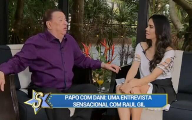 Daniela Albuquerque entrevista Raul Gil