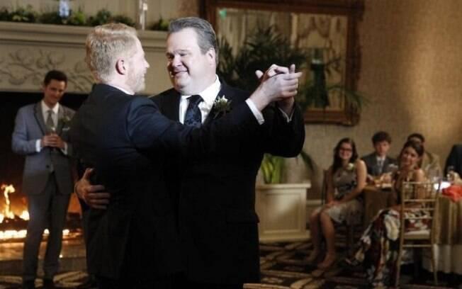 Não faltou nem o momento da valsa no casamento tradicional de Cameron e Mithchell