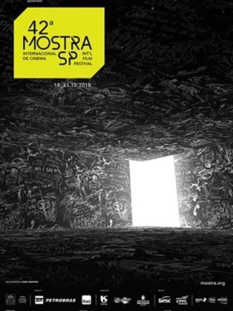 Artista Laurie Anderson assina pôster da 42ª edição da Mostra de Cinema de São Paulo