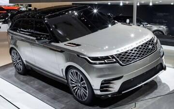 Range Rover Velar é lançado em Genebra e chega ao Brasil no fim do ano