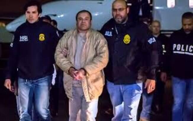 Tido como o maior traficante do mundo, El Chapo era chefe do Cartel de Sinaloa e está preso desde janeiro de 2017
