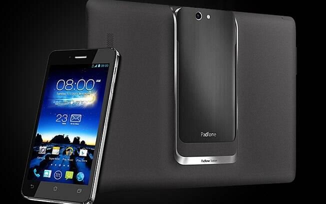 PadFone Infinity funciona como smartphone e tablet