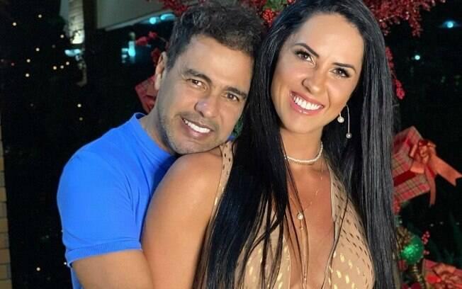 Graciele Lacerda e Zezé Di Camargo