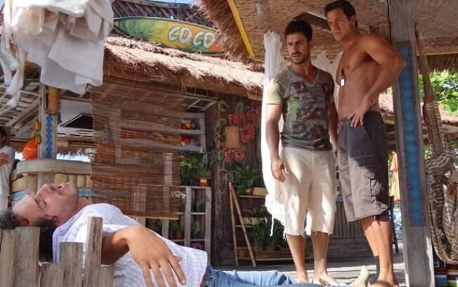 Enzo e Ferdinand ajudam Guaracy a se recuperar