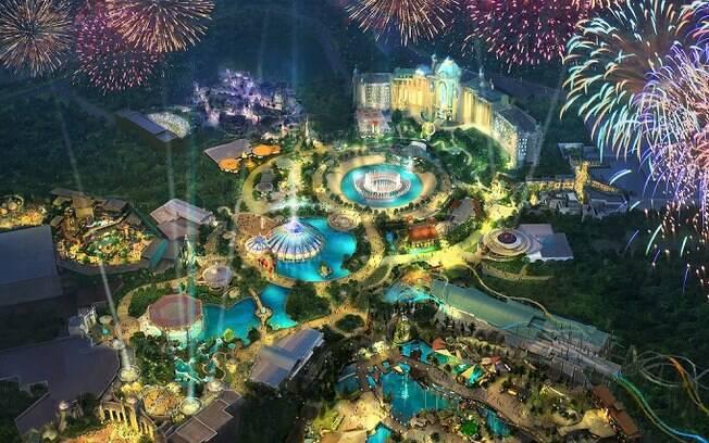 Universal anunciou o Epic Universe, um novo parque em Orlando que terá atrações imersivas e inovadoras