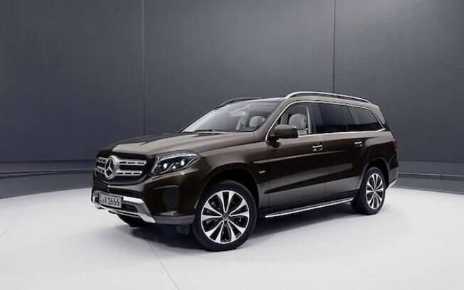Mercedes-Benz GLS Grand Edition:  o exterior terá faróis de LED e jogo de rodas com aro de até 21 polegadas de diâmetro