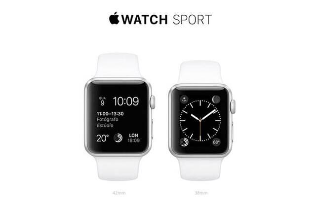 848d66db32a Relógio inteligente da Apple já está à venda nas lojas físicas – em São  Paulo e no Rio de Janeiro – e no site brasileiro