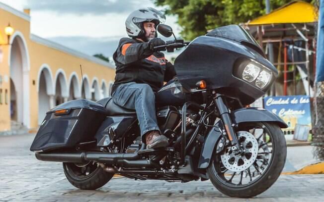 A Harley-Davidson Road Glide Special em Izamal, a cidade amarela