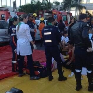 Prédio de ministérios é esvaziado após explosão em Brasília