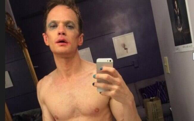 Neil Patrick Harris no camarim