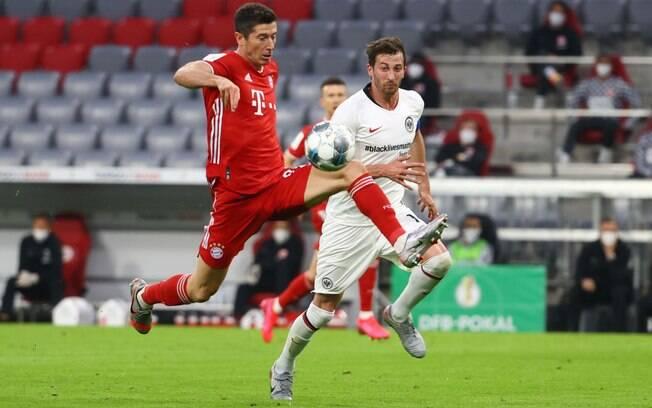Bayern vence Frankfurt pela semifinal da Copa da Alemanha