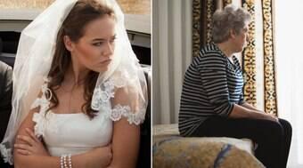 Noiva proíbe a mãe de ir ao seu casamento por questões de moda