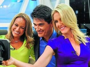 Time. Novo trio de apresentadores busca alavancar a audiência da atração e superar a Globo