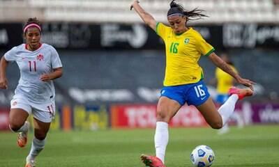 Jogos da Seleção feminina batem a masculina na Copa América