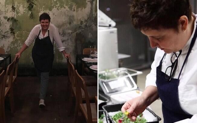 A chef relata ter aprendido a cozinhar de modo autodidata, enquanto conciliava a rotina com a faculdade de veterinária