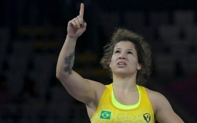Brasileira estreou com derrota no wrestling