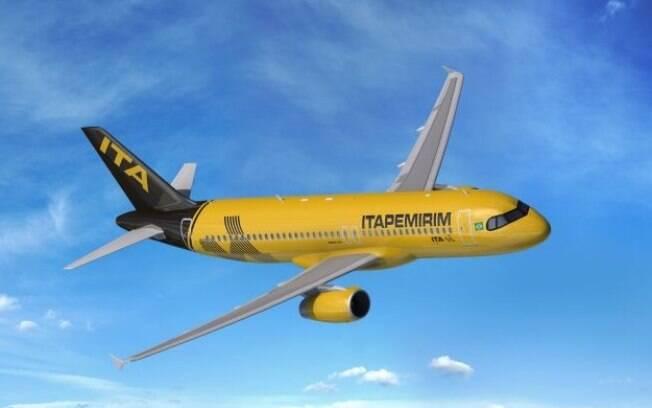 Itapemirim anuncia live no Instagram da chegada do primeiro avião