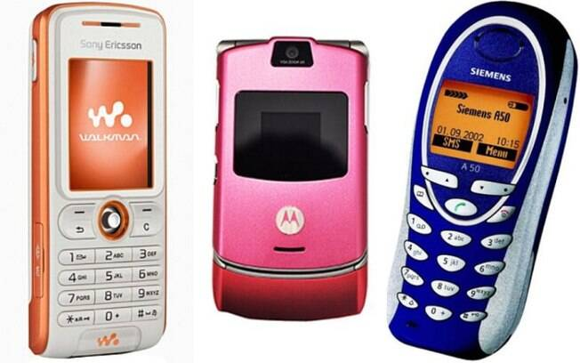 Quais celulares antigos você se lembra?