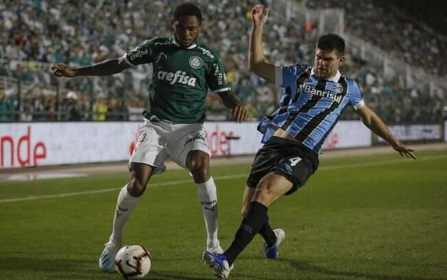Grêmio eliminou o Palmeiras no Pacaembu