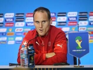 Steve von Bergen acredita no potencial da Suíça para sair da Arena Fonte Nova com a vitória
