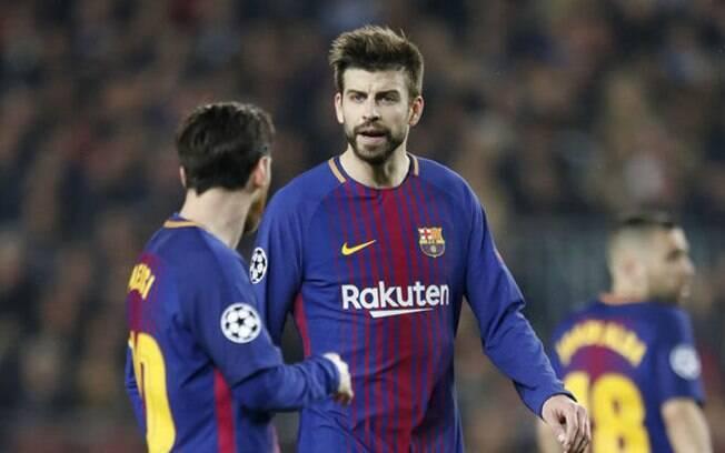 Briga entre Messi e Piqué teria desencadeado uma crise no vestiário do Barcelona