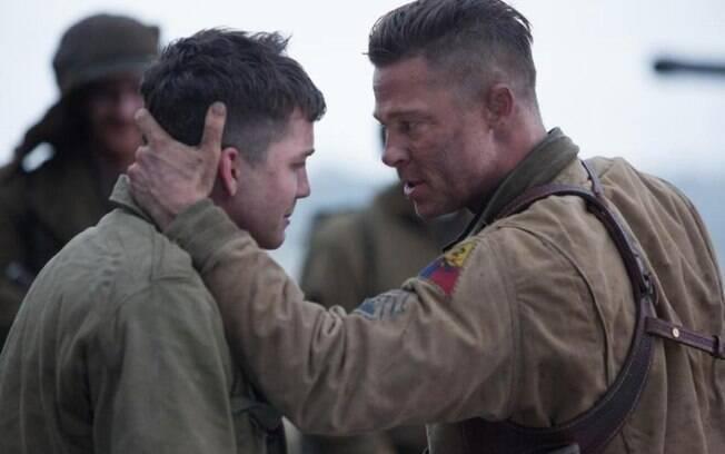 Com Brad Pitt Corações De Ferro Mostra Violência E Impacto Da