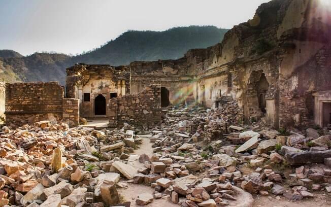 Ruínas do Bhangarh Fort