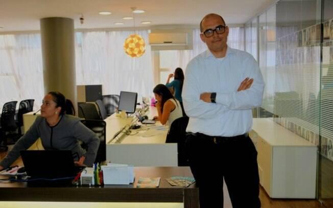 Startup dos empreendedores Bruno Sayão (foto) e Ricardo Gobbo unem pessoas que precisam dinheiros as que estão dispostas a emprestar