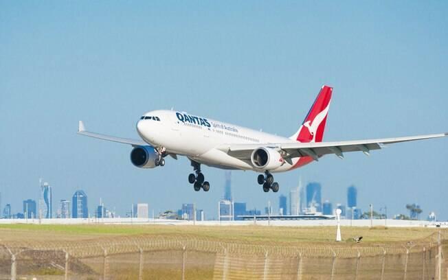 Qantas lidera ranking das companhias aéreas mais seguras para viajar