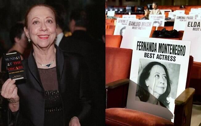 Fernanda Montenegro concorreu ao Oscar de Melhor Atriz por