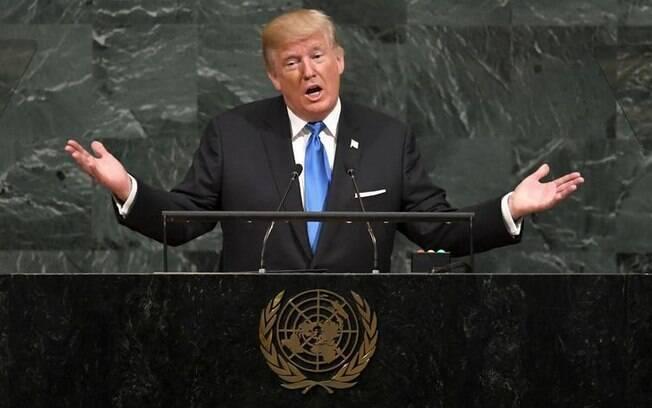 Em seu discurso de estreia da Assembleia Geral da ONU, Donald Trump, ameaçou cancelar acordo com Irã